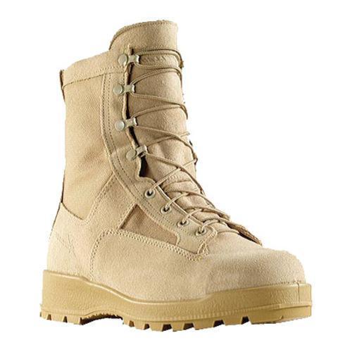 Men's Wellco Insulated Waterproof Steel Toe Combat Boot 600G Tan