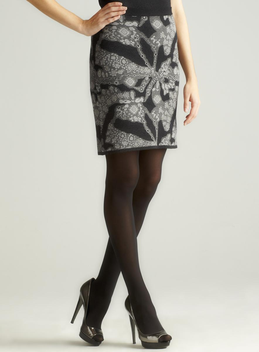 Carmen Marc Valvo Gem-Jacquard Mini Skirt