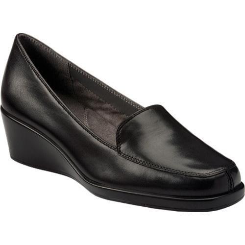 Women's Aerosoles Final Exam Black Leather
