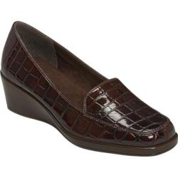Women's Aerosoles Final Exam Brown Synthetic