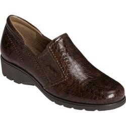 Women's Aerosoles Songbook Brown Croco Print