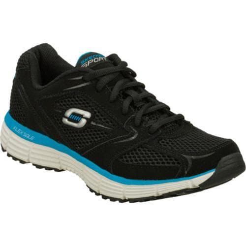 Men's Skechers Agility Black/Blue