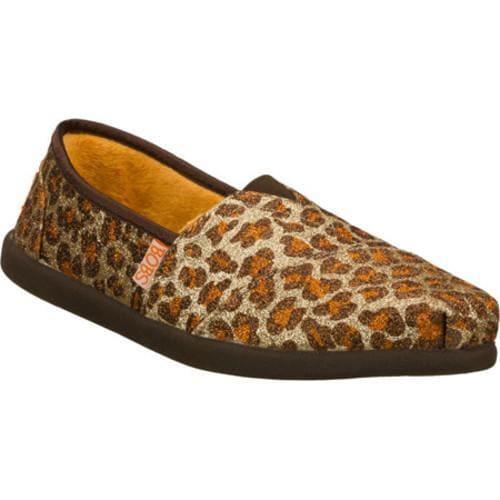 Women's Skechers BOBS World Warm Feet Brown/Natural