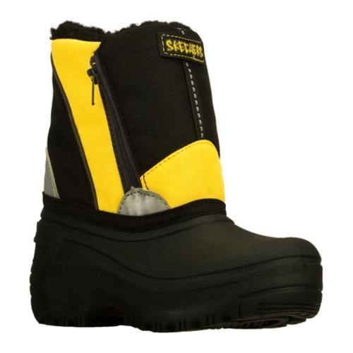 Boys' Skechers Brumal Carbuncle Black/Yellow
