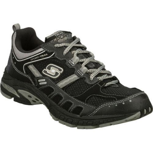 Men's Skechers Equilibrium Black/Gray