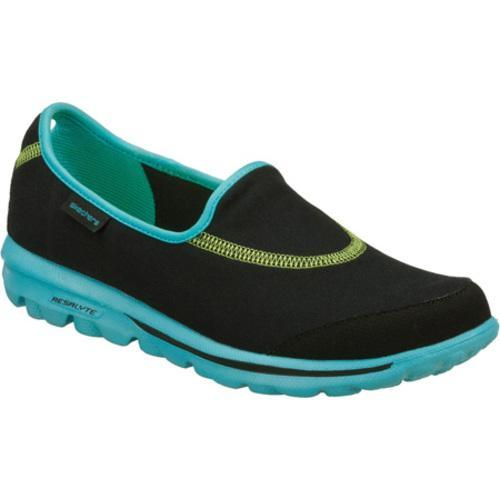 Women's Skechers GOwalk Black/Blue