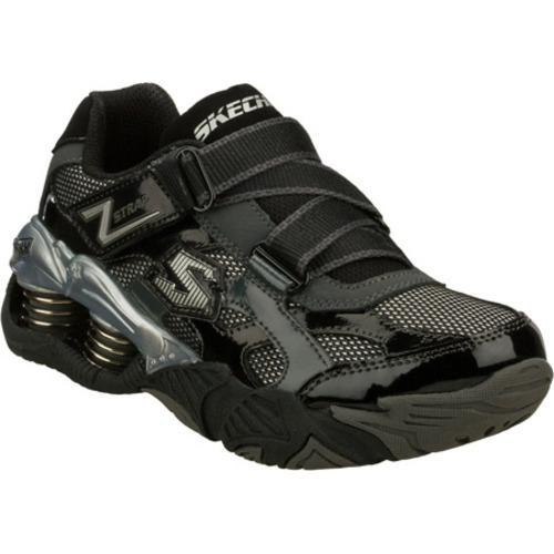 Boys' Skechers Mega Flex Pistonz Imbue Black/Gray