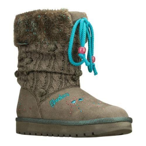 Girls' Skechers Twinkle Toes Keepsakes Peaceful Gray/Blue
