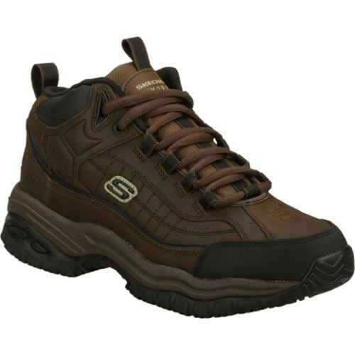Men's Skechers Work Soft Stride Zenith Brown