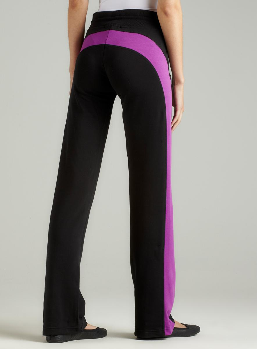 BCBG French Terry Colorblock Pant - Thumbnail 1