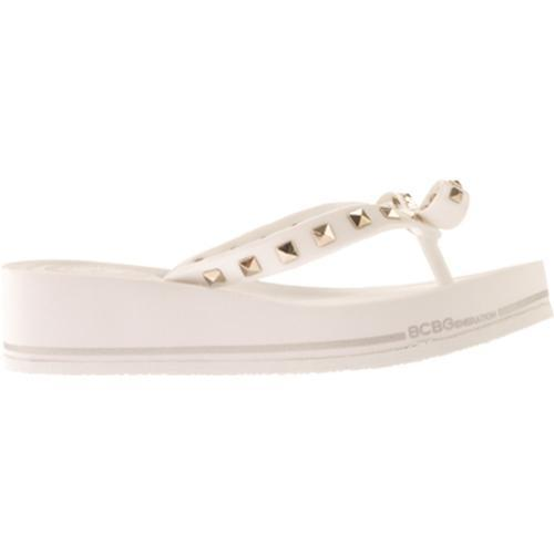 Women's BCBGeneration Flo White Opaque Jelly - Thumbnail 1