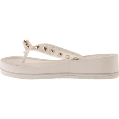 Women's BCBGeneration Flo White Opaque Jelly - Thumbnail 2