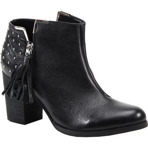 Women's Diba Dare Ring Black Leather