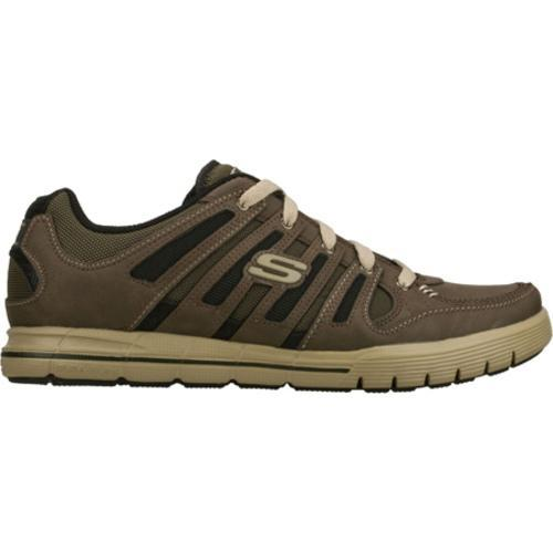 Men's Skechers Relaxed Fit Arcade II Phase Brown/Brown