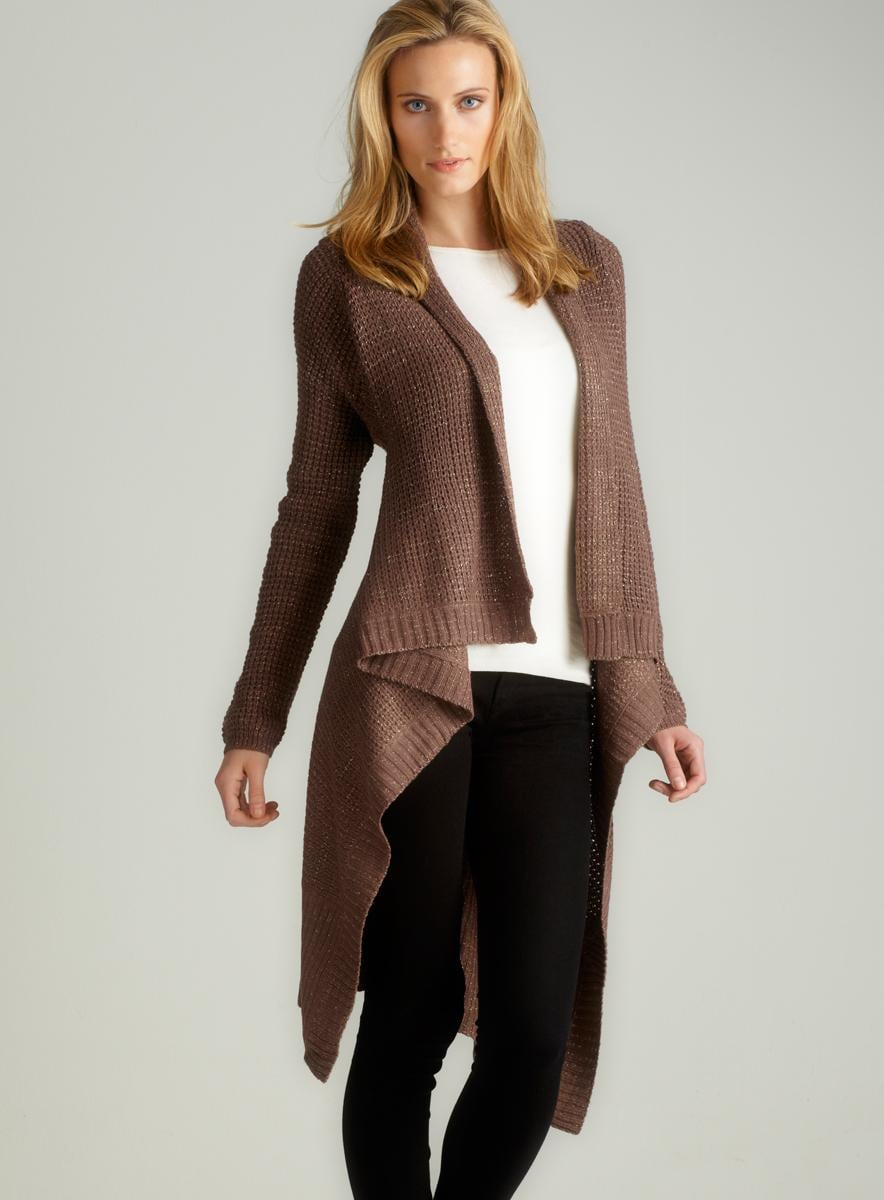 Romeo & Juliet Couture L/S Asym Long Sweater