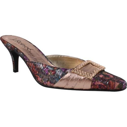 Women's J. Renee Eva Rose Gold/Floral Multi Brocade/Metallic Nappa