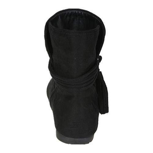 Women's Beston Parker-04 Black Fabric