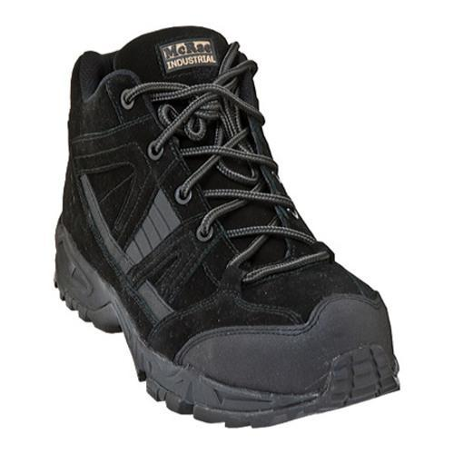 Men's McRae Industrial Non-Metallic Safety Toe Hiker MR83320 Black Suede