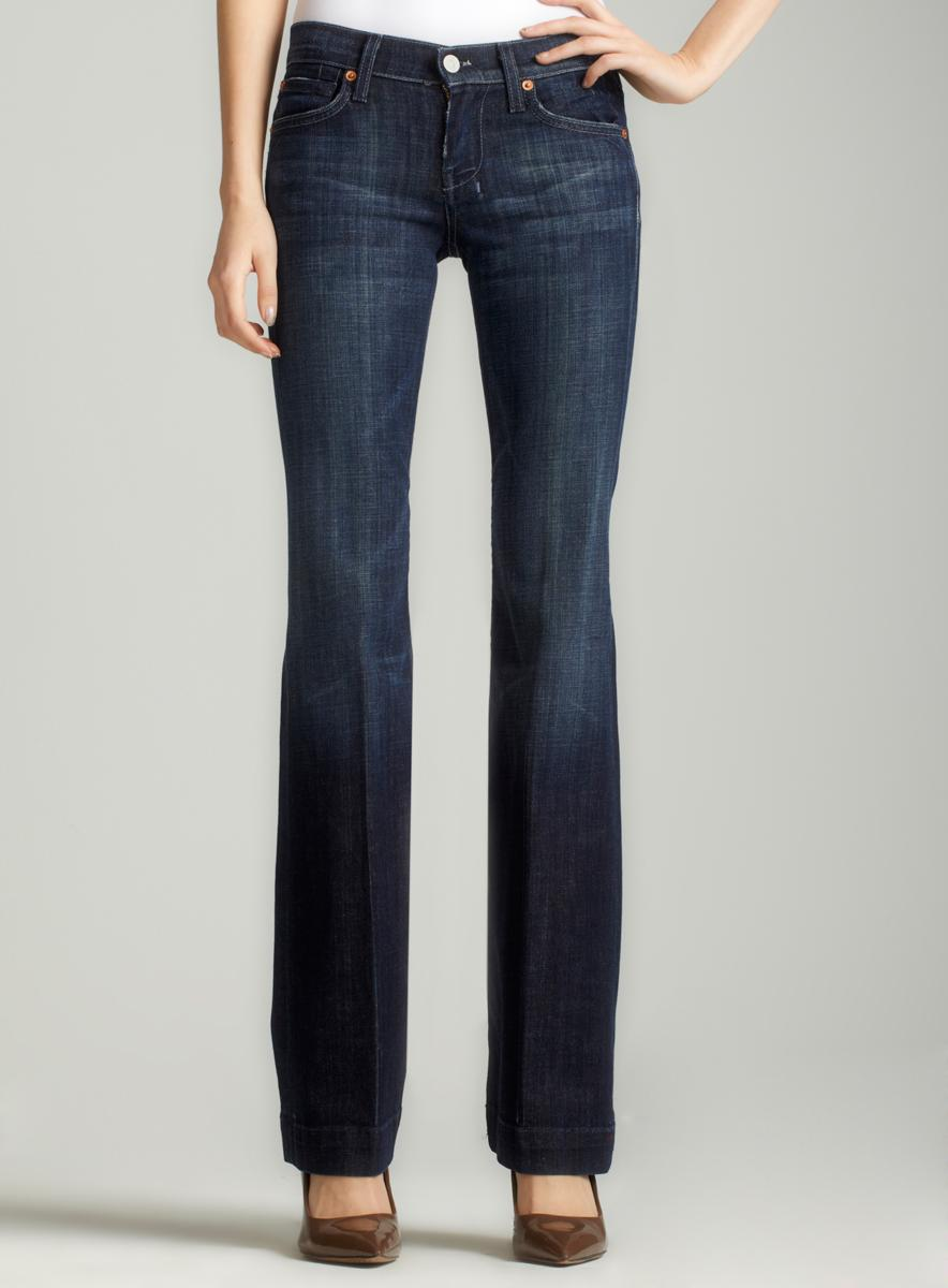 7 For All Mankind Dojo Flare Leg Trouser - Free Shipping Today ...