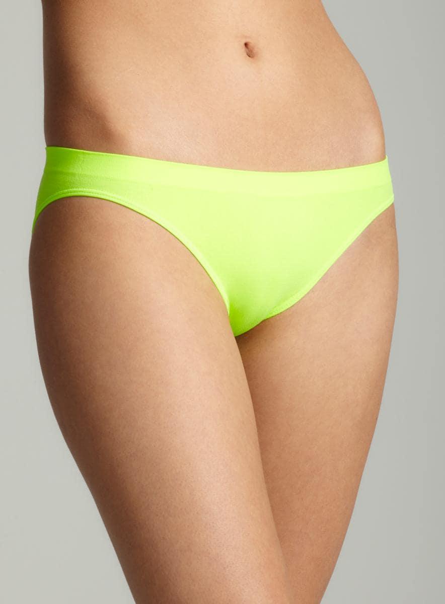Rene Rofe Neon Green Seamless Bikini