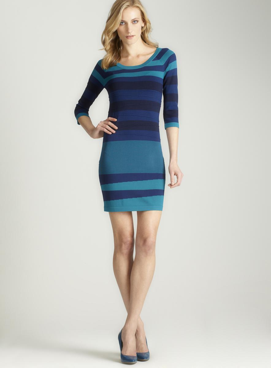 Max Studio Printed Crepe Dress