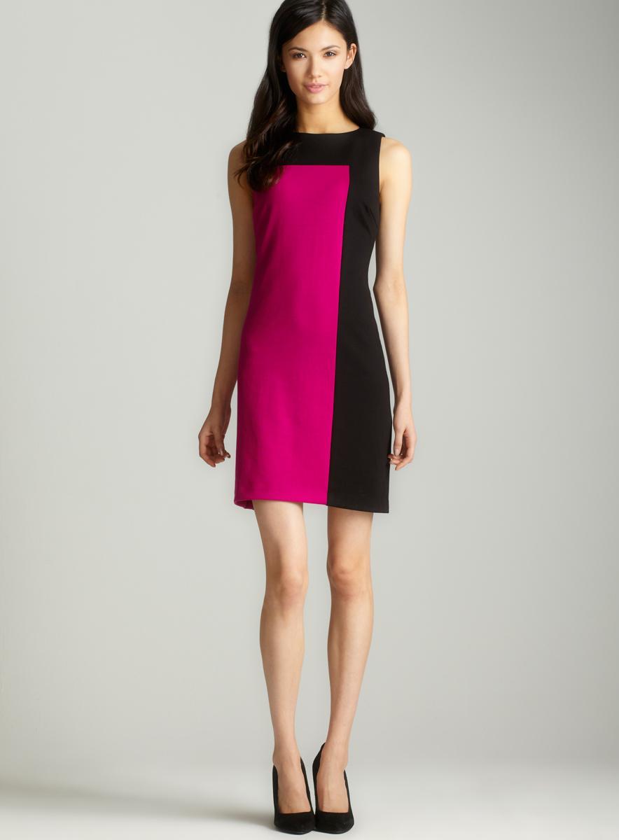 Premise Colorblock a-line dress