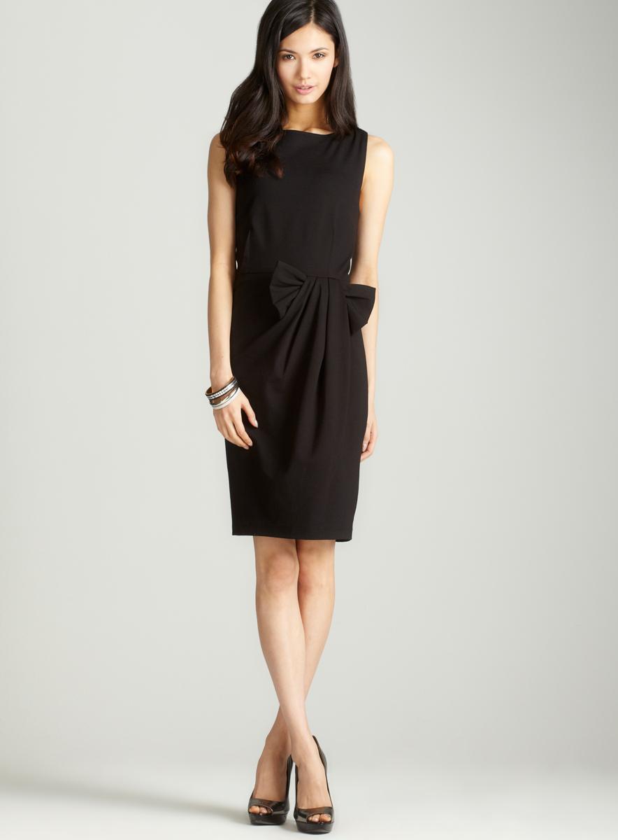 Premise Sleeveless dress with bow