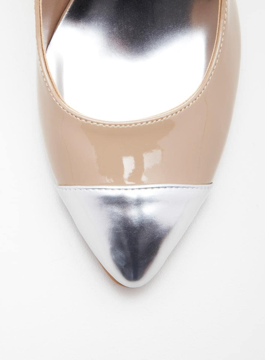 CHINESE LAUNDRY Z-alice mid heeled captoe pump - Thumbnail 2