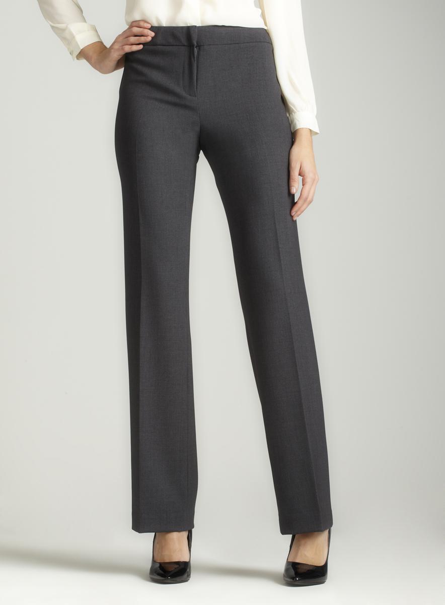 Calvin Klein Stretch bootcut pant in grey
