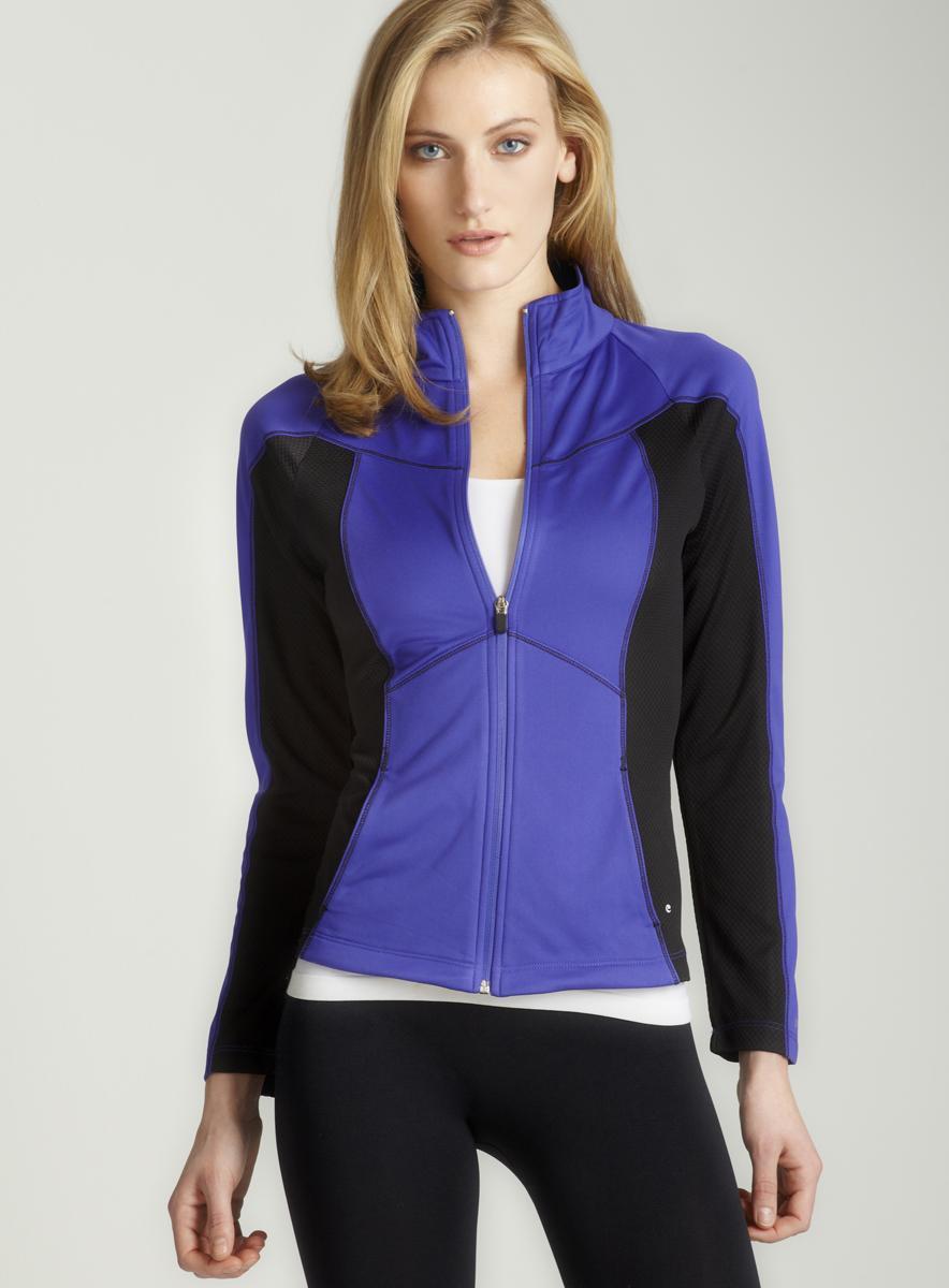 Spalding Violet tricot tech jacket