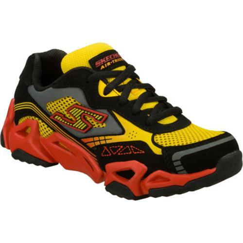 Boys' Skechers Air Tricks Fierce Flex Black/Gold