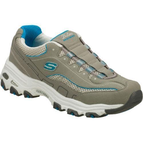Women's Skechers D'lites Trend Spotter Gray/Blue