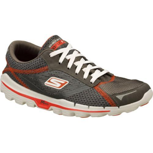 Men's Skechers GOrun 2 Gray/Red