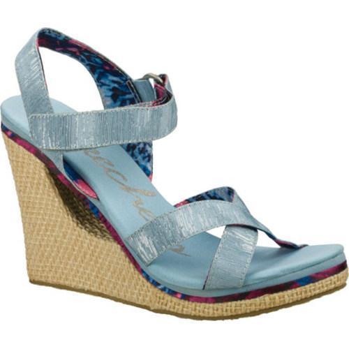 Women's Skechers Loveshine Crazy Style Blue/Blue