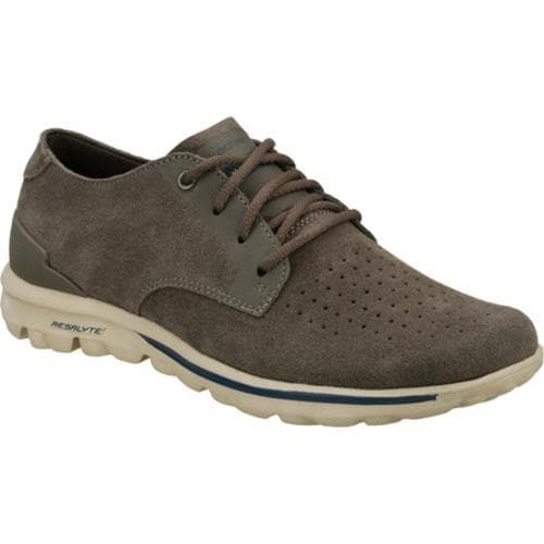 Men's Skechers On the GO Lux Gray/Gray - Thumbnail 0