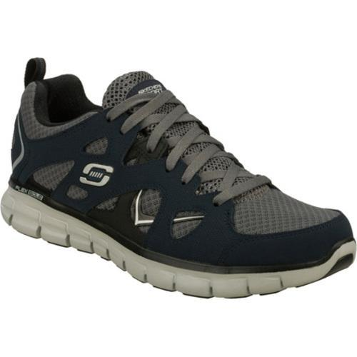 Men's Skechers Synergy Gridiron Navy/Gray