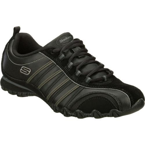 Women's Skechers Bikers Troopers Black