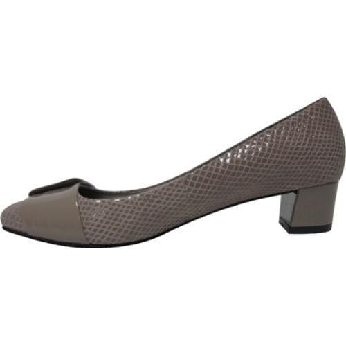 Women's J. Renee Gordi Taupe Amazon/Patent Leather - Thumbnail 2