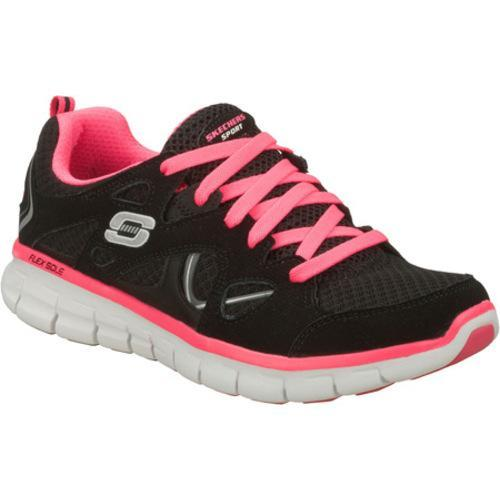 Women's Skechers Synergy Ultimatum Black/Pink
