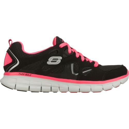 Women's Skechers Synergy Ultimatum Black/Pink - Thumbnail 1
