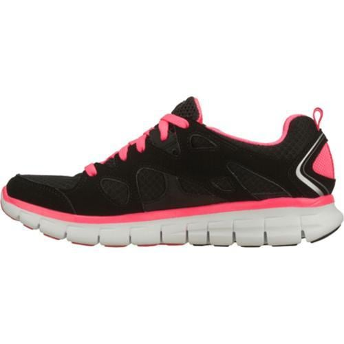 Women's Skechers Synergy Ultimatum Black/Pink - Thumbnail 2
