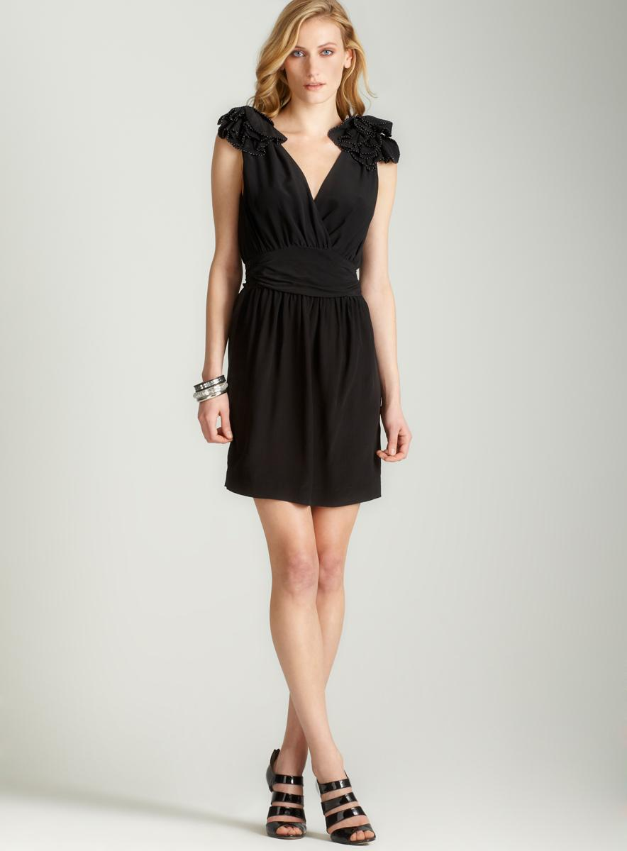 French Connection Silky sacha slvls dress