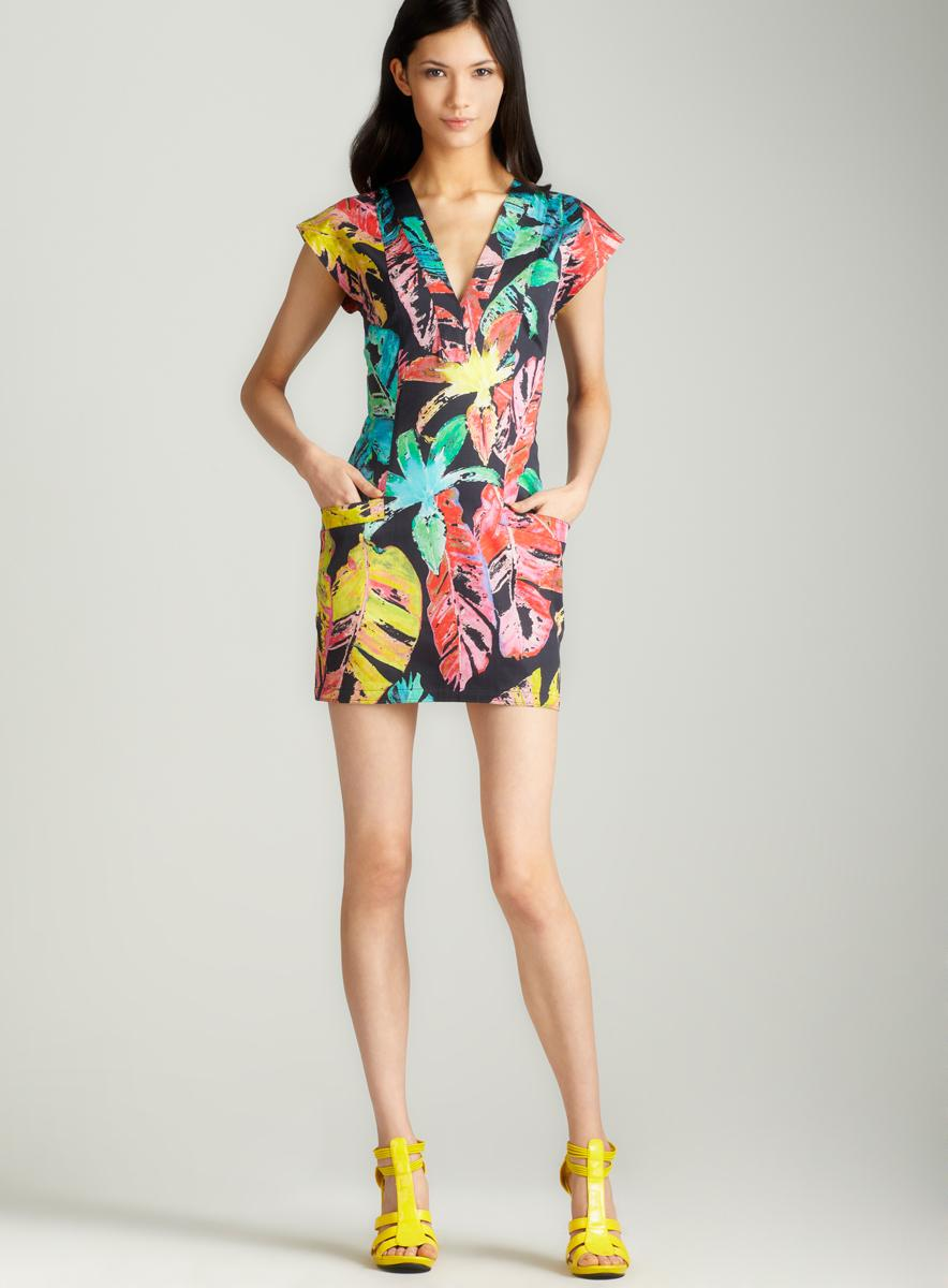 Torn Dina fierce jungle dress