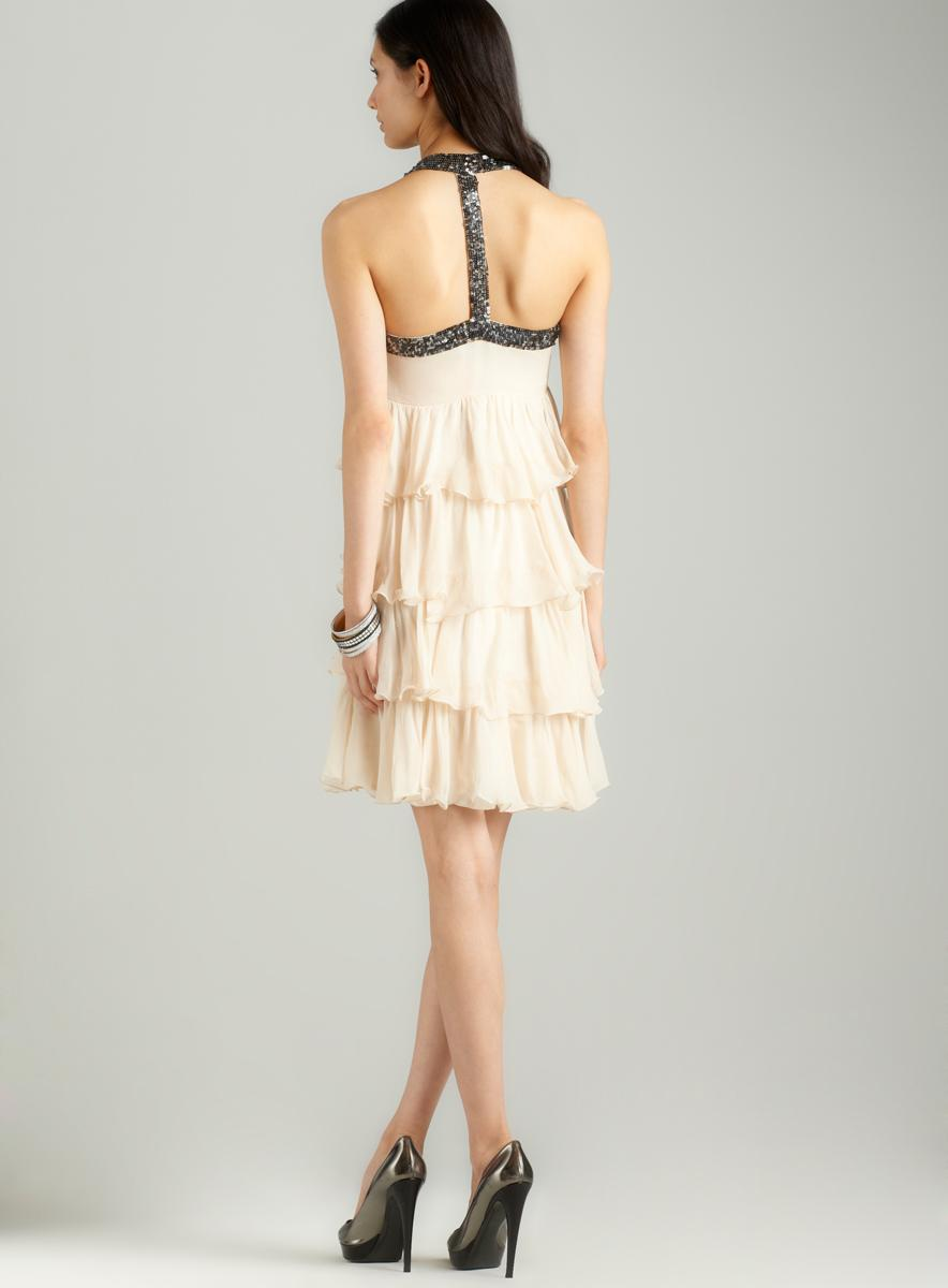 French Connection Great expectations hneck dress