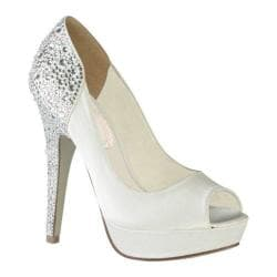 Women's Pink Paradox London Starry White Satin