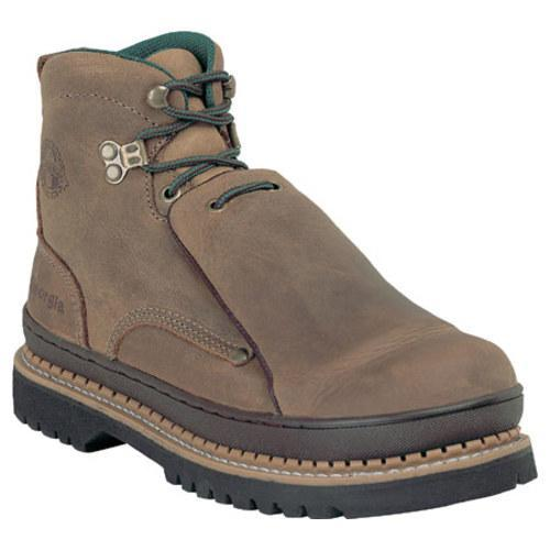 Men's Georgia Boot G63 6in Safety Toe Georgia Giant Metatarsal Oiled Tan Cheyenne Full Grain Leather