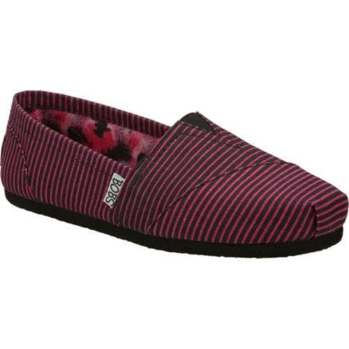 Women's Skechers BOBS Hand In Hand Black/Pink - Thumbnail 0