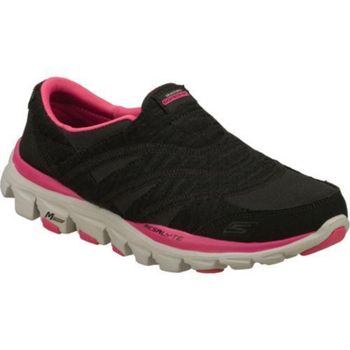 Women's Skechers GOride Recovery Black/Pink