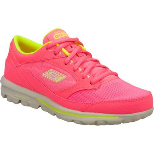 Women's Skechers GOwalk Baby Pink/Green