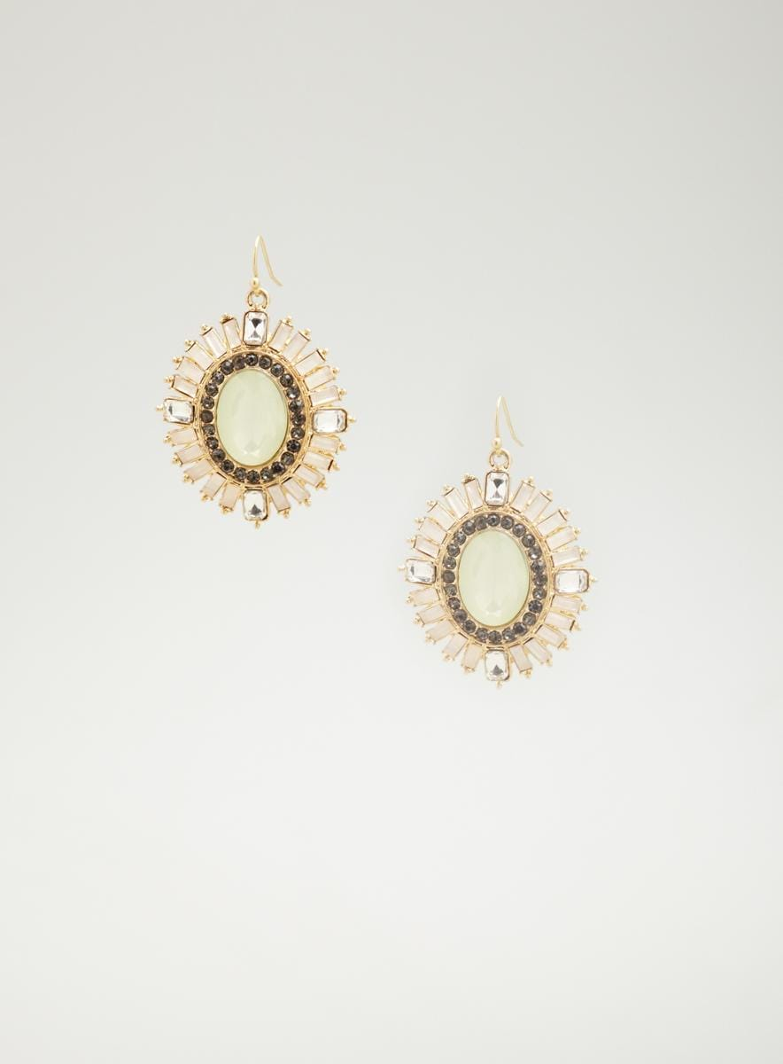 Lydell Jewel sunburst earrings
